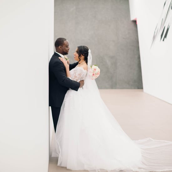 Wedding at an Art Museum