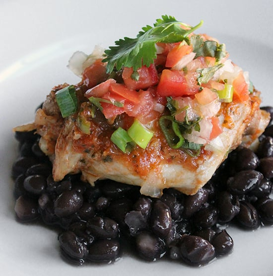 Mexican Chicken With Black Beans