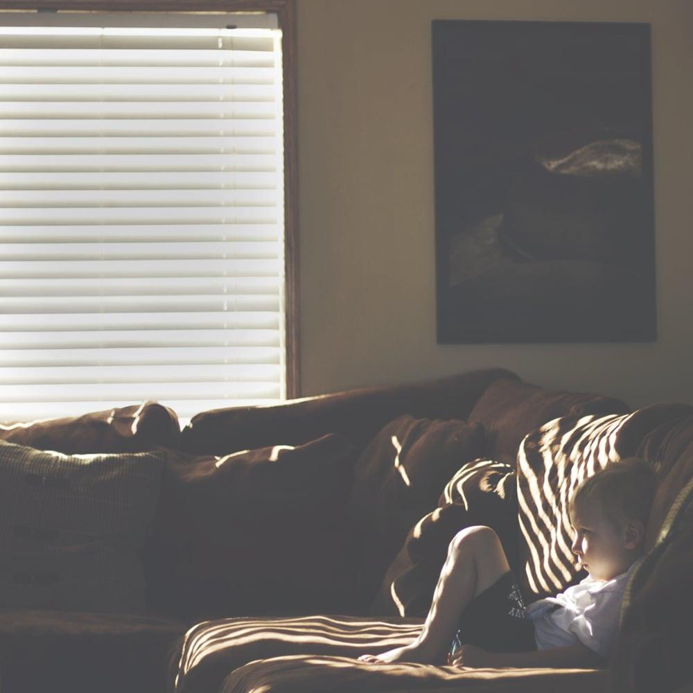 Lazy Mornings at Home