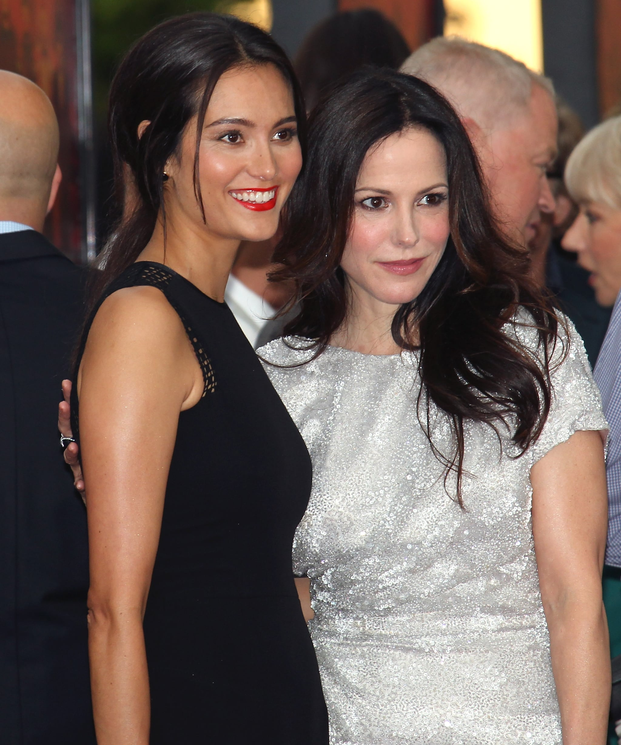 Catherine Zeta-Jones Goes Back to Black at the Red 2 Premiere