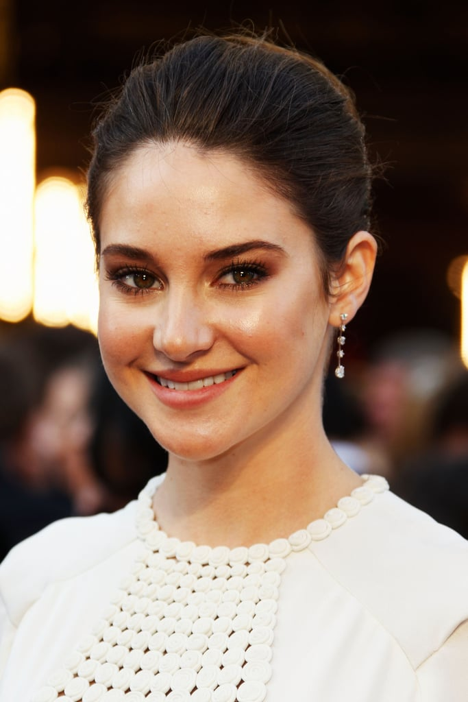Shailene Woodley up close at the Oscars