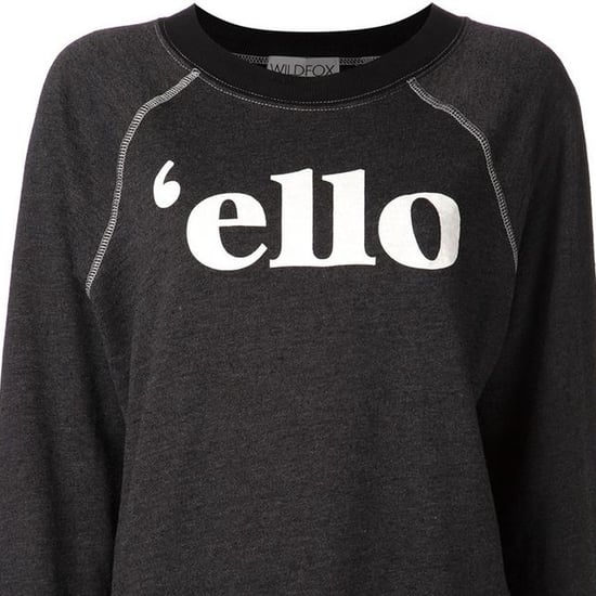 Sweaters and Pullovers With Text Phrases