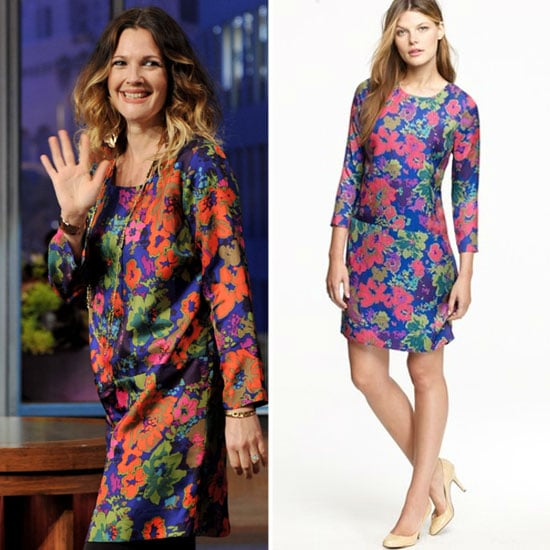Drew Barrymore in J.Crew Pictures