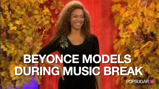 Video of Beyonce Modeling on The Today Show 2010-10-06 14:02:30