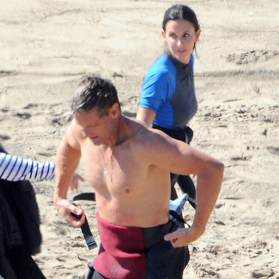 Courteney Cox and Shirtless Brian Van Holt Pictures