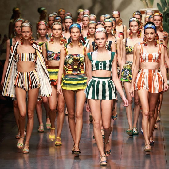 Pictures and Review of Dolce & Gabban Spring Summer MilanFashion Week Runway Show