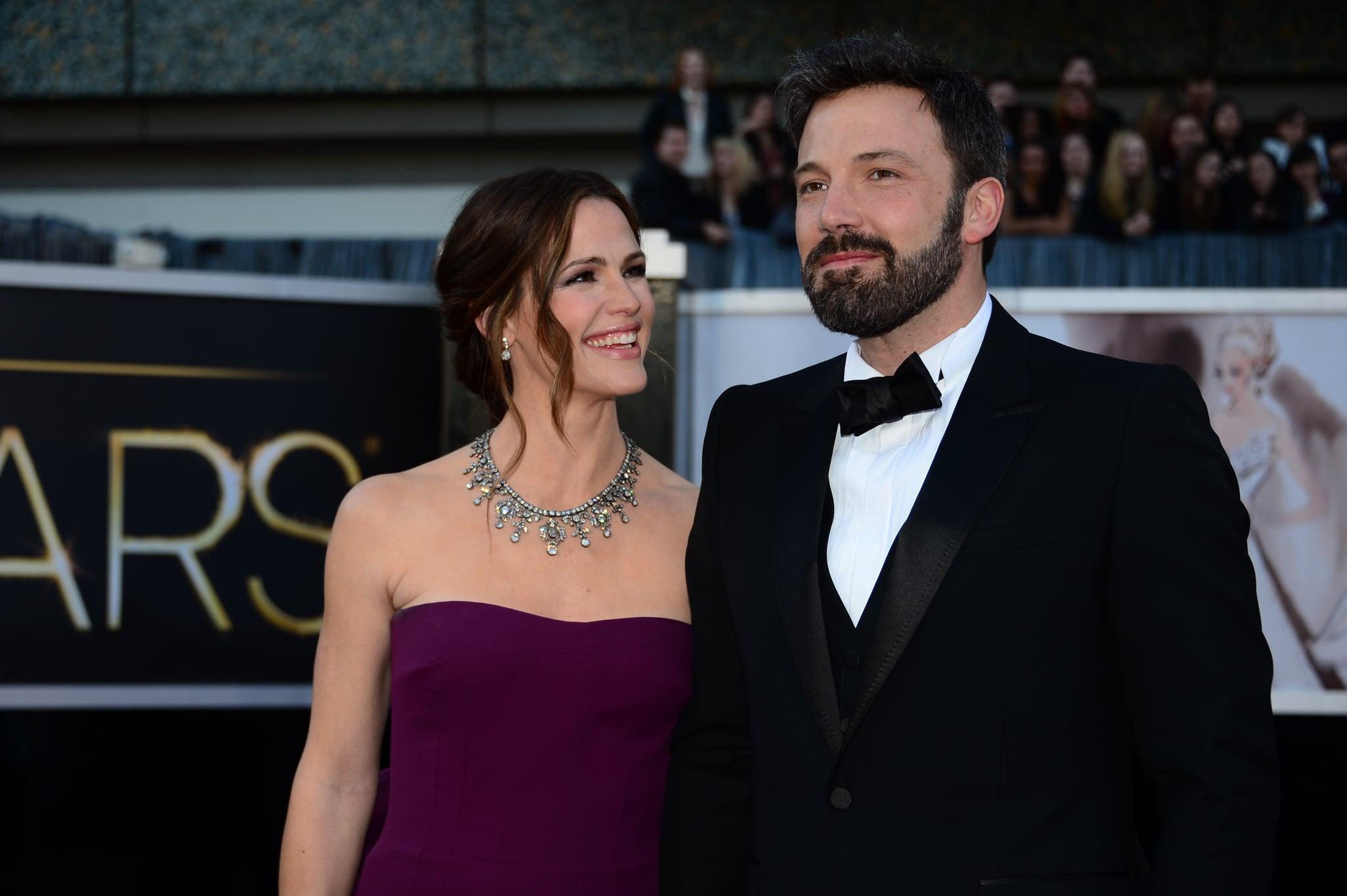 Jennifer Garner gave her husband, Ben Affleck, the look of love.