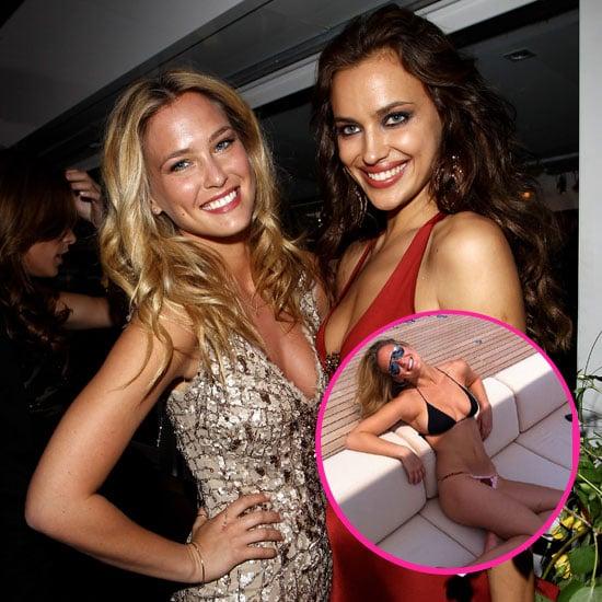 Bar Refaeli Wears Her Bikini After Partying With Irina Shayk