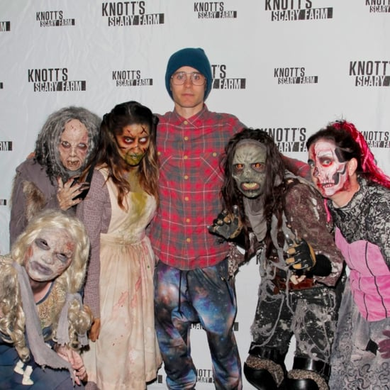 Jared Leto at Knott's Scary Farm 2015   Pictures