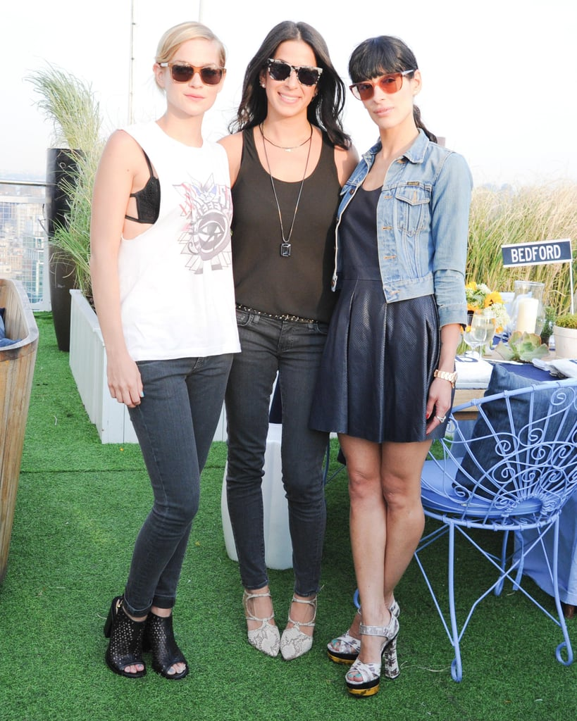 Leigh Lezark, Rebecca Minkoff, and Athena Calderone at the Rebecca Minkoff dinner for the label's denim collection in New York.  Source: Billy Farrell/BFAnyc.com