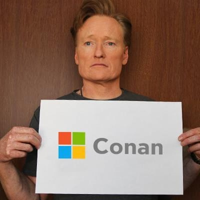 Conan O'Brien as Microsoft CEO