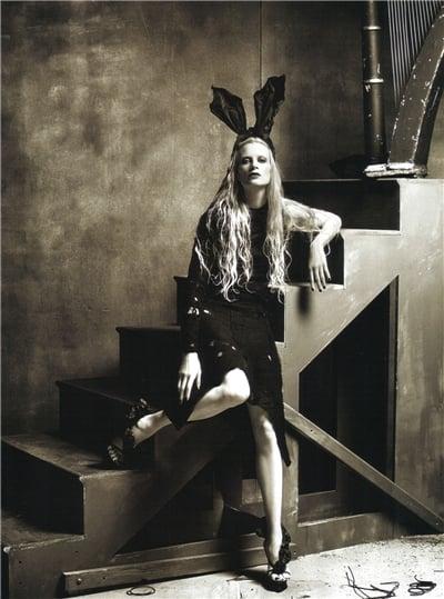 Girls on Film: Kristen McMenamy, Vogue Italia