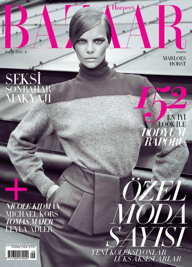 Harper's Bazaar Turkey September 2012