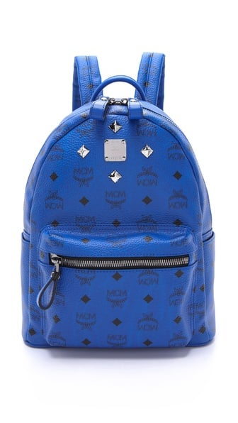 MCM Stark Sprinkle Stud Small Backpack ($560)