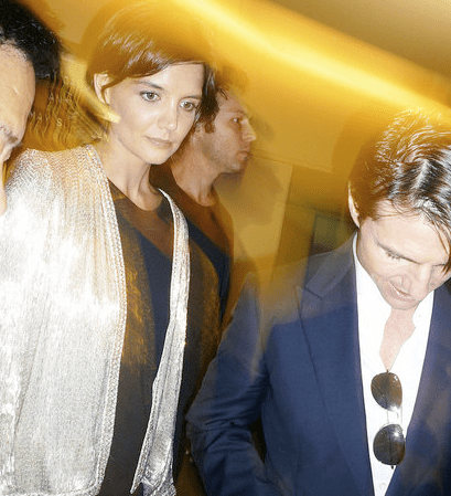 Photos of Katie Holmes, Connor Cruise and Tom Cruise Premiere of Star Trek at Grauman's Chinese Theatre