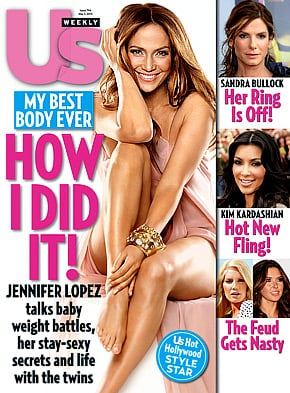 Jennifer Lopez Tells Us Weekly That She Didn't Care About Flabby Belly