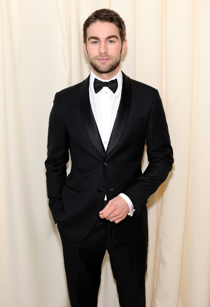Chace Crawford suited up with a bow tie.