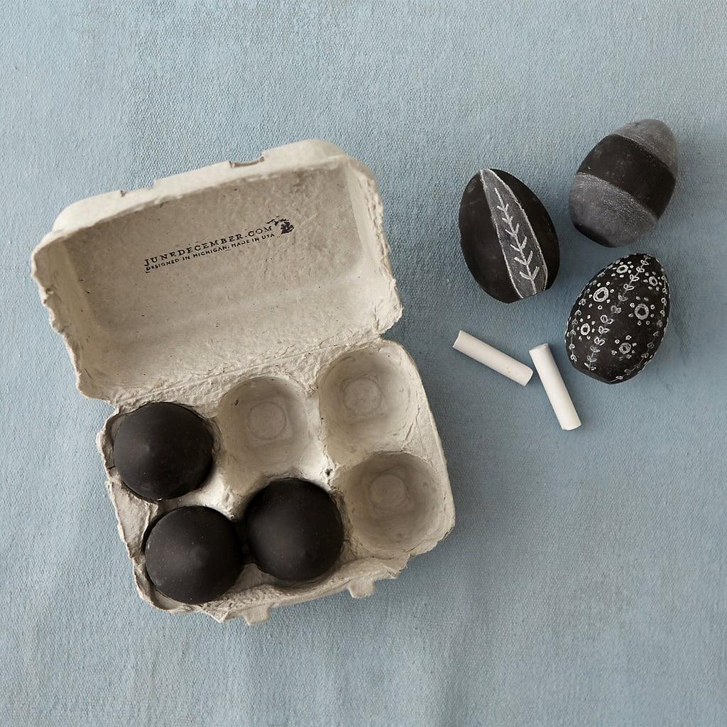 Half-Dozen Blank Eggs