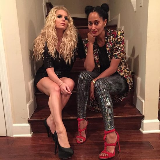 Tracee Ellis Ross and Jessica Simpson Instagram Picture