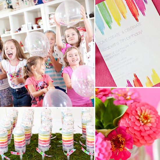 A Create and Celebrate Birthday Party