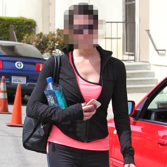 Guess Which Young Actress Headed to the Gym?