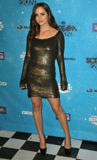 Trendspotting: Gold Metallic Minidresses
