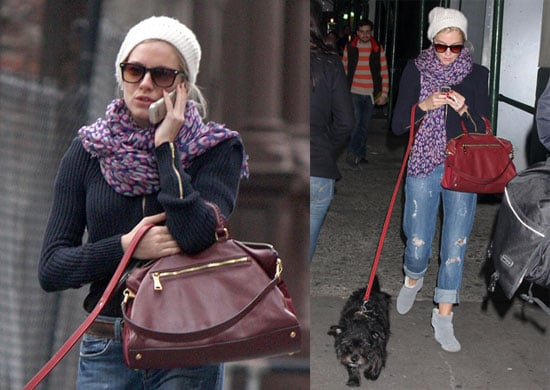Photos of Sienna Miller Walking Her Dog in NYC 2009-10-15 16:00:00