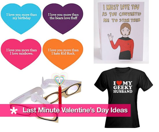 Ten Last Minute Valentine's Day Ideas!
