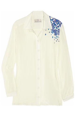 Erdem Monica Printed Silk Crede de Chine Blouse, $790