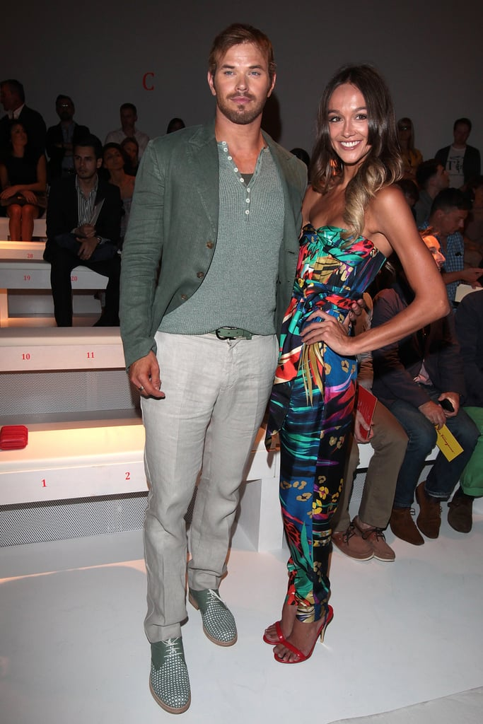 Mixing colours and prints at Salvatore Ferragamo on June 24.