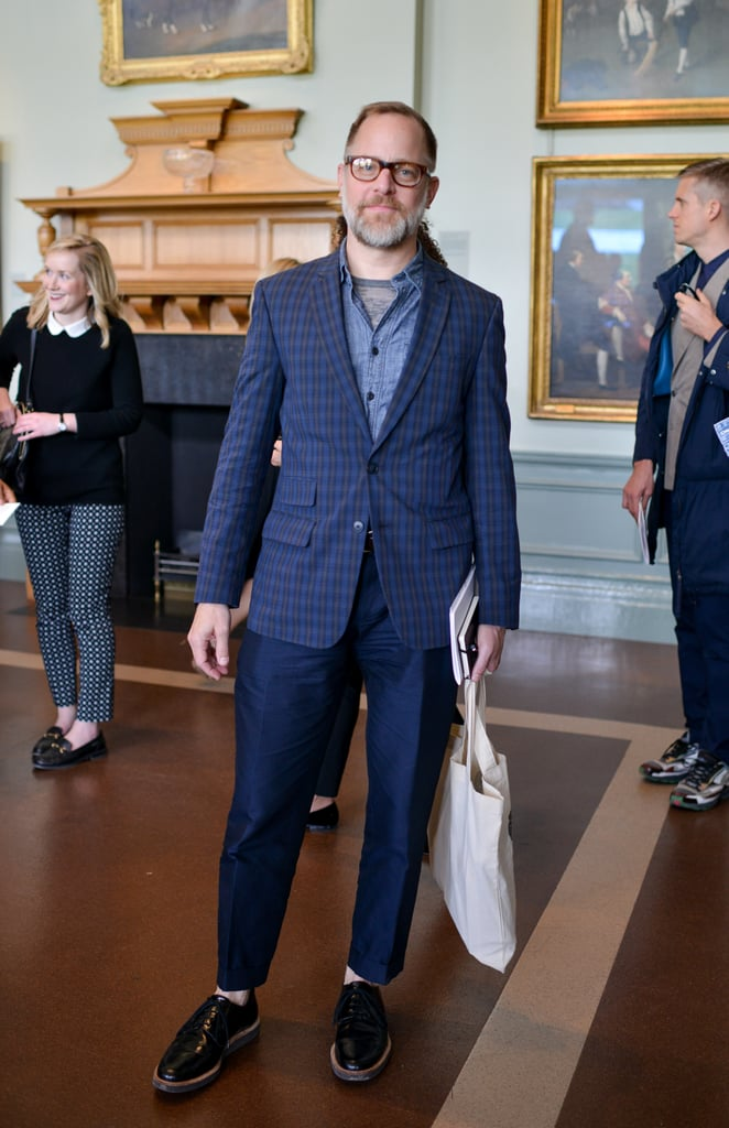 Bruce Pask at the Savile Row and St. James's celebration for the launch of London Collections: Men in London.