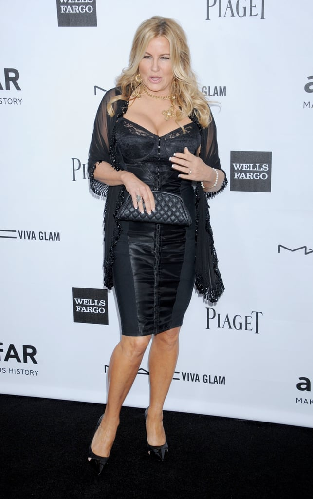 Jennifer Coolidge stepped out at Milk Studios in LA for the amfAR 3rd Annual Inspiration Gala.