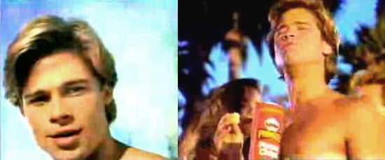 Before He Was Famous, Brad Pitt Starred in a Pringles Commercial