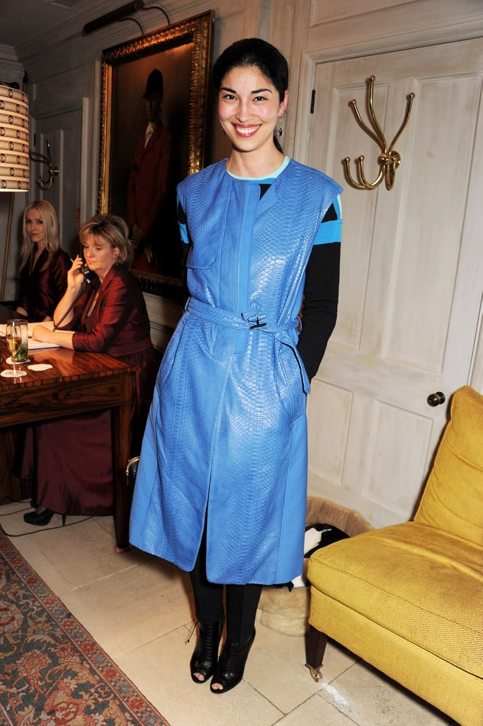 Caroline Issa at the Jimmy Choo and Esquire celebration for the launch of London Collections: Men in London.
