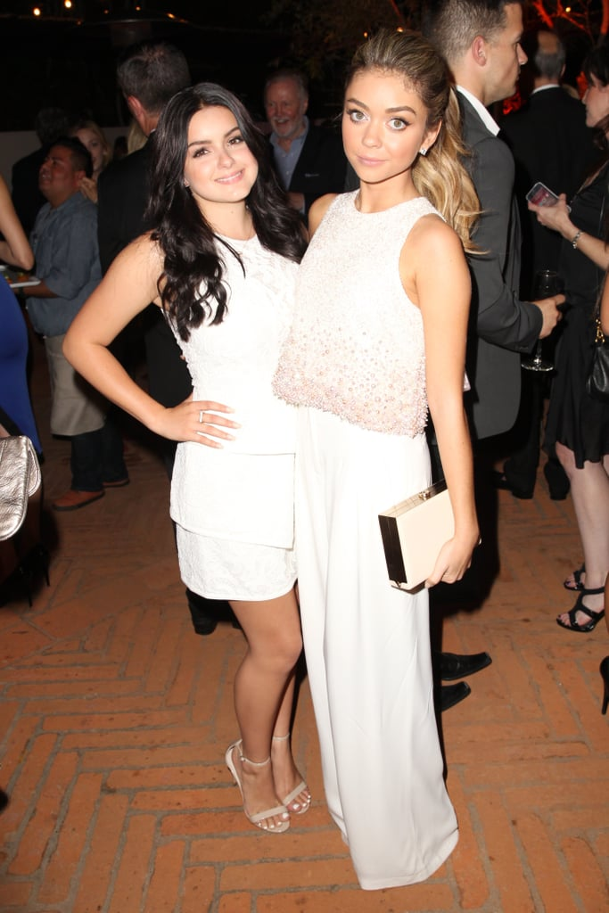 Sarah Hyland met up with her costar, Ariel Winter, on Saturday.