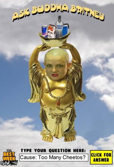 Britney as Buddha?