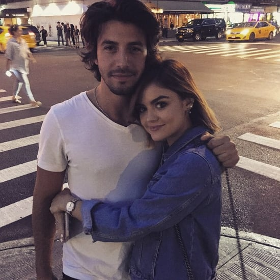 Lucy Hale Posts Instagram Photo With Anthony Kalabretta 2015