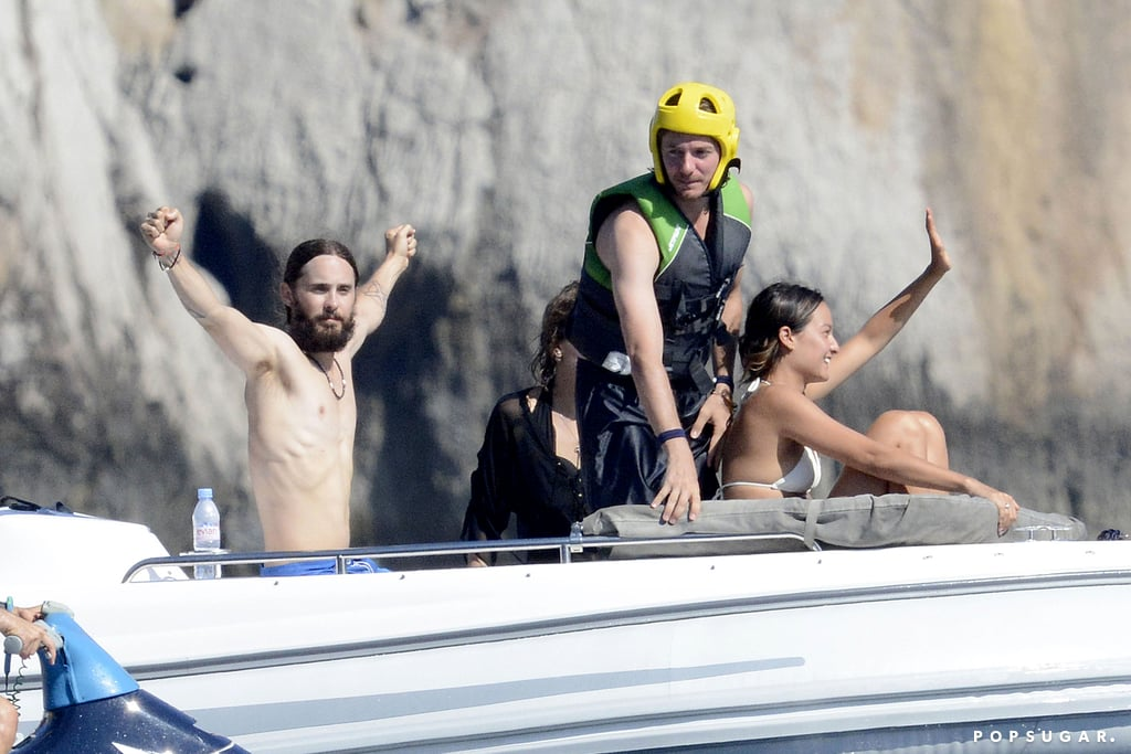 Jared Leto Knows How to Vacation Like a Rock Star