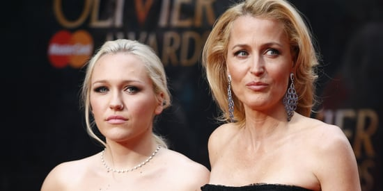 Gillian Anderson And Daughter Piper Maru Klotz Make A Gorgeous Duo
