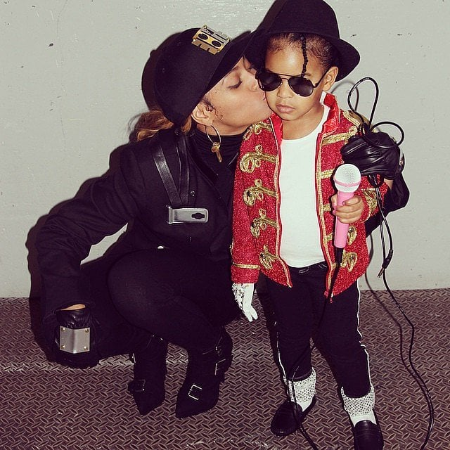Beyoncé and Blue Ivy Carter made the perfect Janet and Michael Jackson in 2014.
