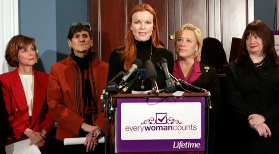 Marcia Cross Gets Political