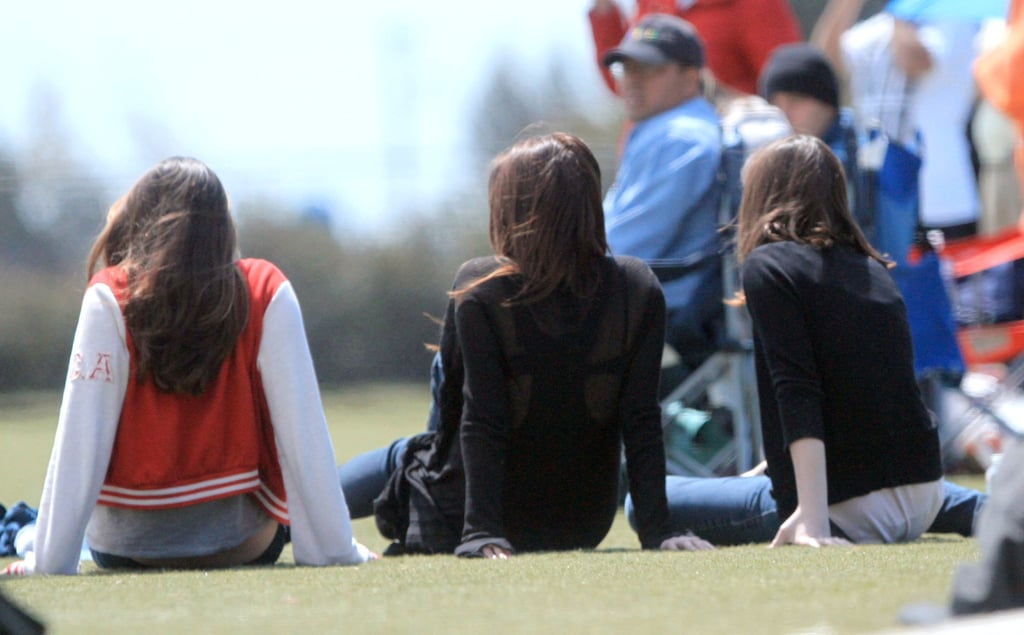 Victoria Beckham Watches Her Man Take the Field and Hit the Zoo