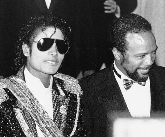 Michael Jackson and Quincy Jones stuck together in 1984.