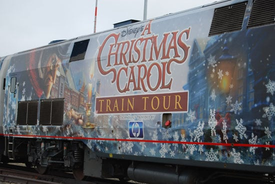 Christmas Carol Train Tour