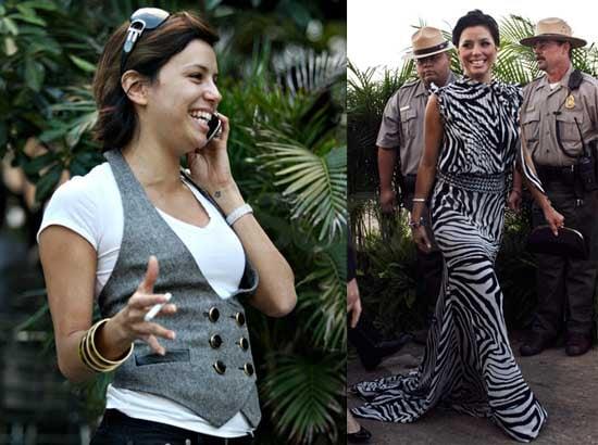 Photos of Eva Longoria in Puerto Rico for Roselyn Sanchez's Wedding