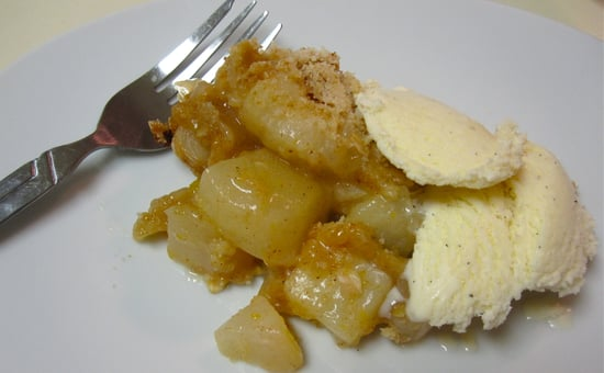 Easy Pear Crisp Recipe