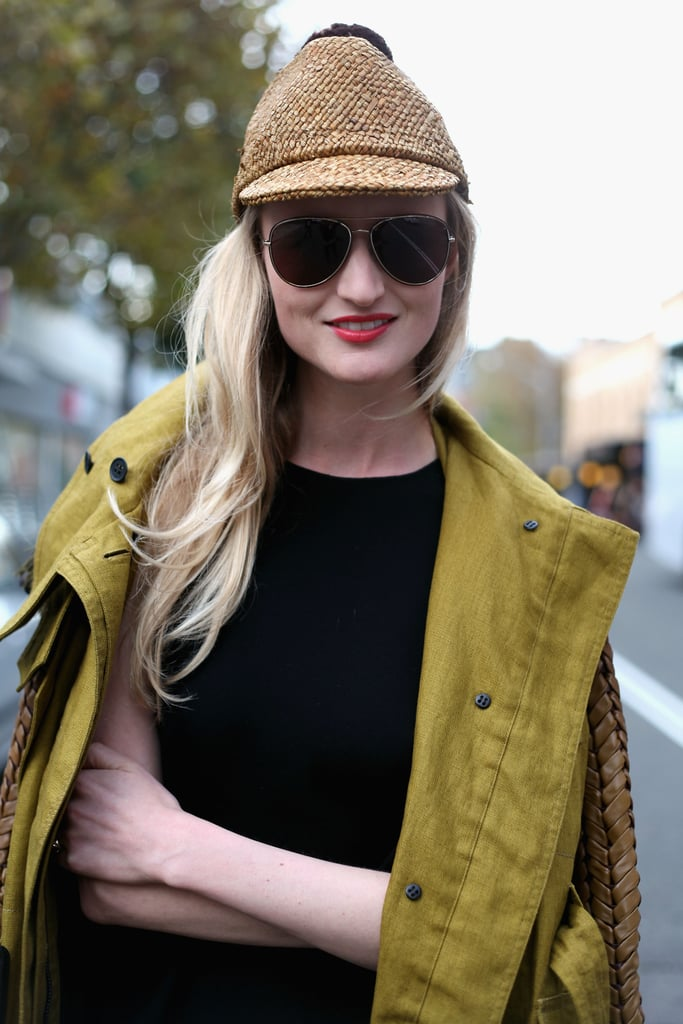 For winter, mix up your hat routine with this country-cool woven jute hat.
