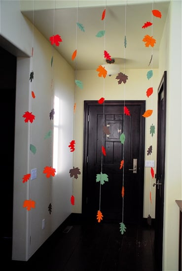 How-To: Make a Pretty Thanksgiving Garland