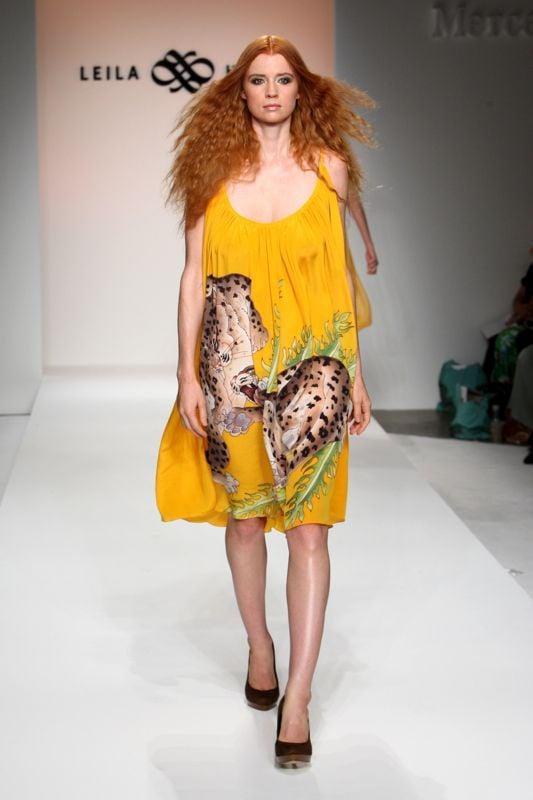 Los Angeles Fashion Week: Leila Hafzi Spring 2009