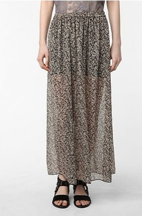 Staring at Stars Printed Chiffon Maxi Skirt ($59)